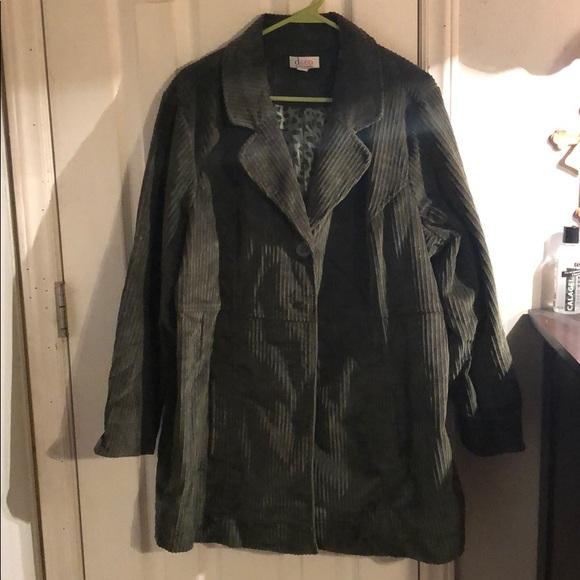 Denim&Co Jackets & Blazers - Olive Jacket